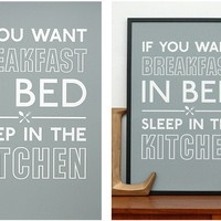 Breakfast in Bed - Slate | For your loved ones | Collections | Keep Calm Gallery