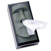 Amazon.com: Tiki Head Tissue Box Cover - Green Face with Black Sides: Home & Kitchen