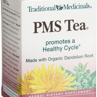 Traditional Medicinals PMS Tea Herbal Tea, 16-Count Wrapped Tea Bags (Pack of 6)