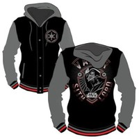Star Wars Darth Vader Dark Ages Men's Letterman Jacket