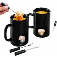 Personal Fondue Mugs