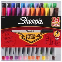Sharpie Ultra Fine Point Permanent Marker Assorted Colors 24 ct
