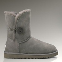 5803 Style Grey Sheep Skin Boots