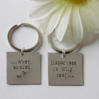Friendship  Keychains  Boyfriend/ Girlfriend by ExpressionsStamped