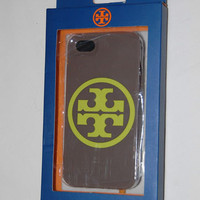 Tory Burch Clay and Green Logo iphone case Iphone 5 GREAT GIFT!
