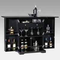 Steamer Trunk Indoor Home Bar - Home Bars at Hayneedle