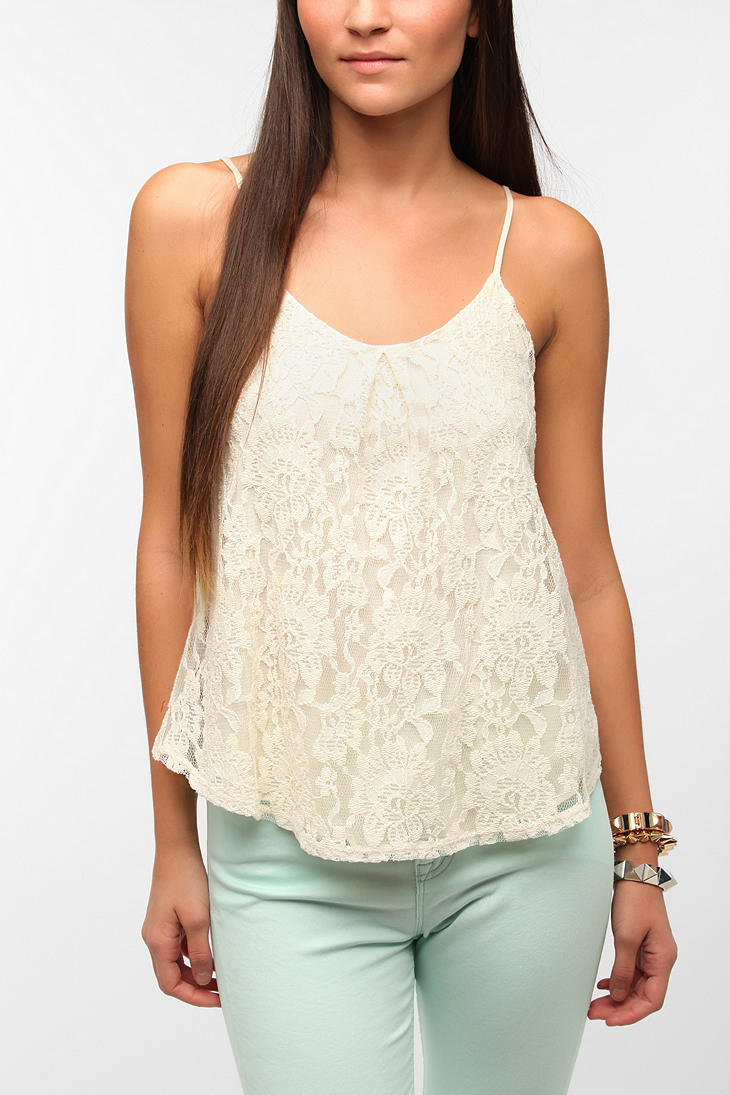 Urban Outfitters - Pins and Needles Lacey Swing Cami