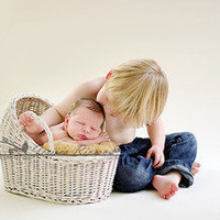 Jessy&#x27;s Props and Creations ? White Newborn Basket