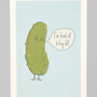 Phil Jones For Society6 Big Dill Print