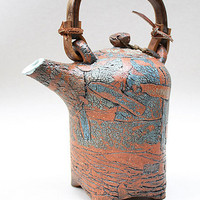 Ceramic teapot