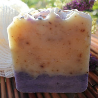 Lavender Soap  Nourishing Bar by SimplySelah on Etsy