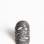 Hurricane Pewter Ring