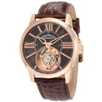 Stuhrling Original 296D.334X54 Special Reserve Viceroy Tourbillon Limited Edition Mechanical Brown Watch - designer shoes, handbags, jewelry, watches, and fashion accessories | endless.com