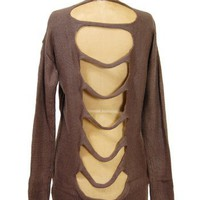Wildwood Open Backed Cardigan - $44.99 : Spotted Moth, Chic and sweet clothing and accessories for women