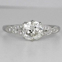 Antique Engagement Rings Shopping