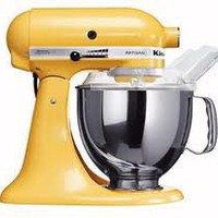KitchenAid Majestic Yellow Artisan Stand Mixer at Sur La Table