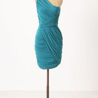 Poised Pleats Dress - Anthropologie.com