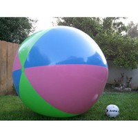 "Amazon.com: 78"" Inflatable Large Beach Ball Party Fun, Monster Balls. Giant XXX: Toys & Games"
