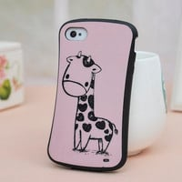 New Cartoon Giraffe Case for Iphone 4/4s/5