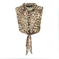 Leopard Print Blouse on Luulla