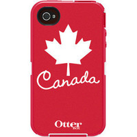OtterBox Defender Series Anthem Collection Canada Flag For iPhone 4S 4 Belt Clip