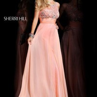 Sherri Hill 3872 at Prom Dress Shop