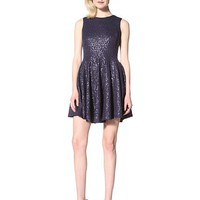 Cynthia Steffe Women's Sabella Sleeveless Sequined Dress at MYHABIT