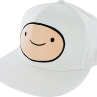 Adventure Time Finn Face Snapback Adjustable Baseball Cap