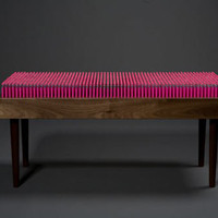 Pencil Bench by Boex | Design Milk