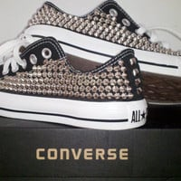 Custom Studded Converse Shoes (ONE SIDED SHOES)
