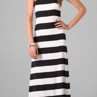 Alice + Olivia Chandra Strapless Maxi Dress