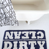 Urban Outfitters - Clean/Dirty Bath Mat