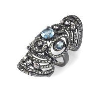 BCBGMAXAZRIA - ACCESSORIES: JEWELRY: VIEW ALL: ARMOR RING WITH STONES