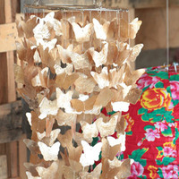 Golden Butterfly Chandelier - $76.00 : ThreadSence, Women's Indie & Bohemian Clothing, Dresses, & Accessories