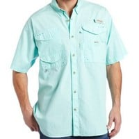 Amazon.com: Columbia Men's Bonehead Short Sleeve Fishing Shirt: Clothing