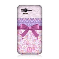 Amazon.com: Ecell - HEAD CASE DESIGNS PLUM LACE AND RIBBON PROTECTIVE BACK CASE COVER FOR HTC RHYME: Cell Phones & Accessories