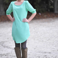 RESTOCK Angels On Earth Dress: Mint | Hope's