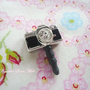 Mini Camera Cell Phone Dust Plug by NyankoLovesMilk on Etsy