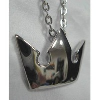 Kingdom Hearts: Silver Crown Necklace