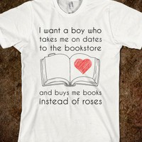 A boy who buys me books
