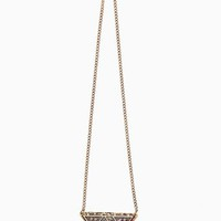 Tribal Triangle Necklace in What's New at Nasty Gal