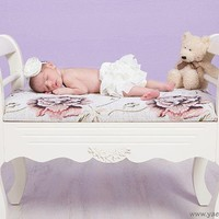 Baby bloomers diaper covers  with with oversized bow by bonbonLand