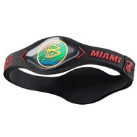 Miami Heat Power Balance Band Size Medium