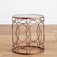 Vance Metal Accent Table