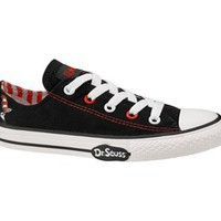 Converse Chuck Taylor All Star Lo Top Dr. Seuss Black/Multi Canvas Shoes 617704F