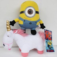 2X Despicable Me Plush T...