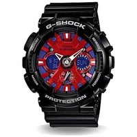 Casio G-Shock Ana-Digi Speed Indicator Red Dial Men's watch #GA120B-1A
