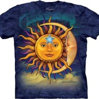 The Mountain Sun Moon Adult Tee