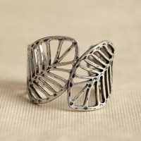 frozen leaves cuff at ShopRuche.com