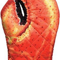Amazon.com: Boston Warehouse Lobster Claw Oven Mitt: Home &amp; Kitchen